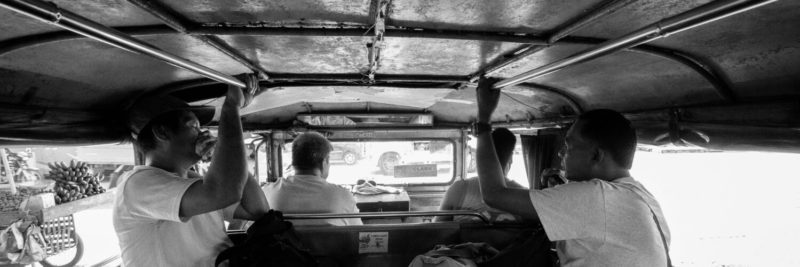 Riding the jeepney in the philippines