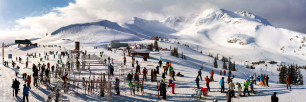 Snow sports in Whistler Canada