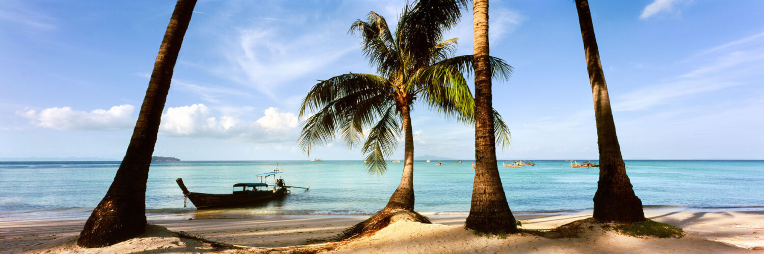 Stunning beach in the Phi Phi islands