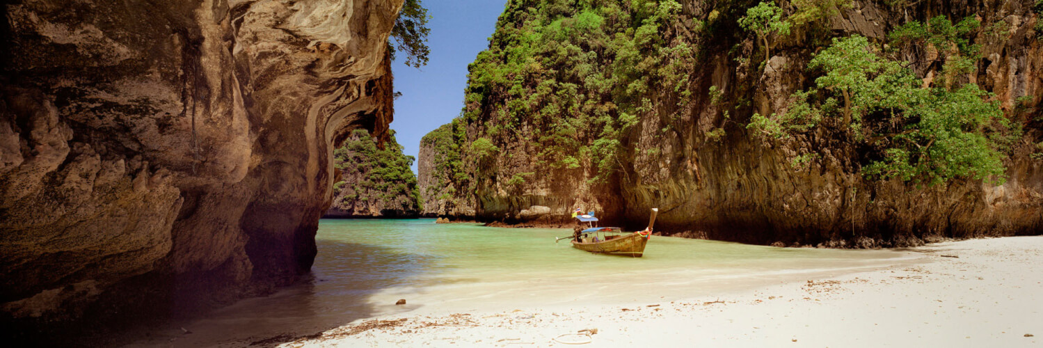 Peaceful bay in Thailand