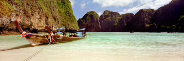 Beautiful maya bay in thailand