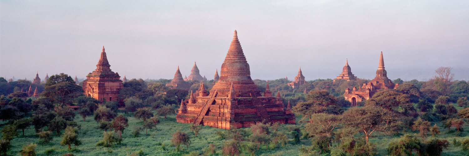 Ancient temple kingdom of bagan