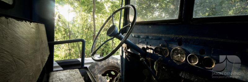 Rusting historic truck