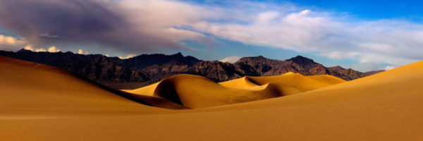 Sand Dunes of Death Valley National Park in California