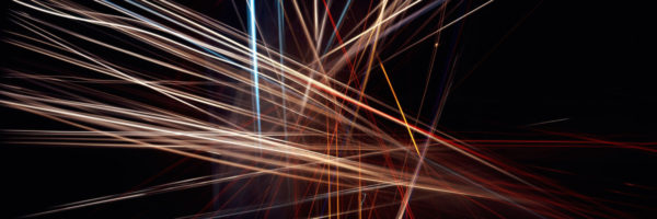 Abstract light painting art