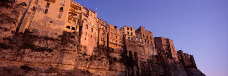 Coastal houses of tropes italy