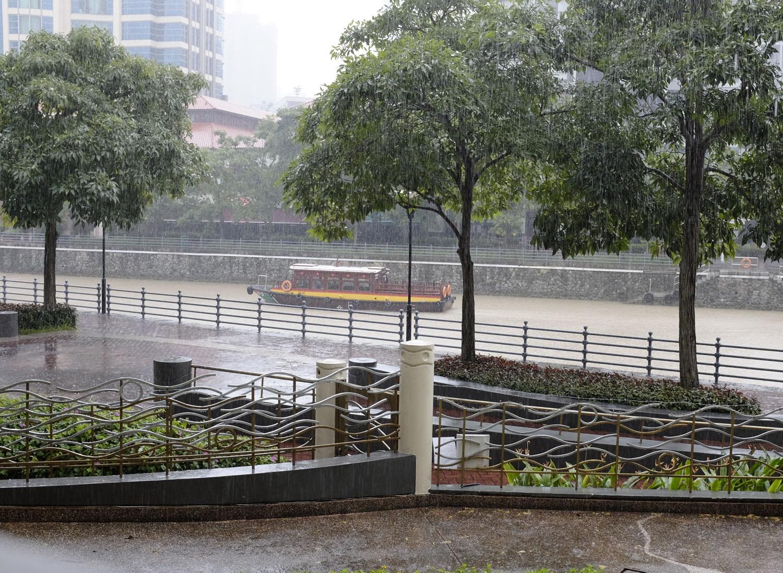 It's raining, it's pouring…..