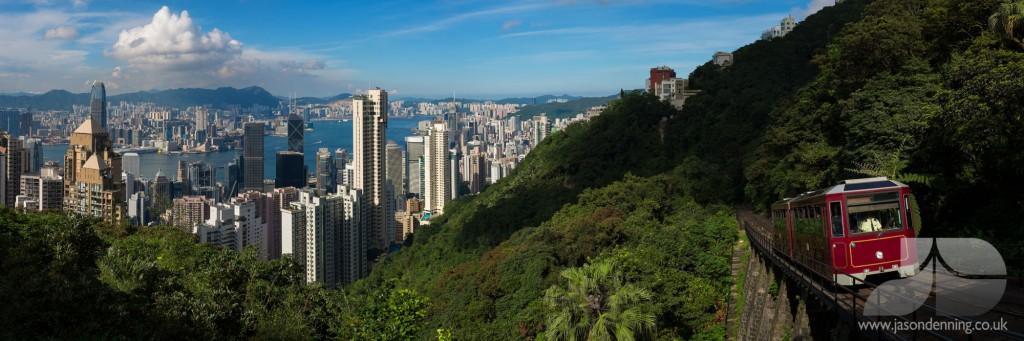 HK PEAK TRAM SUN
