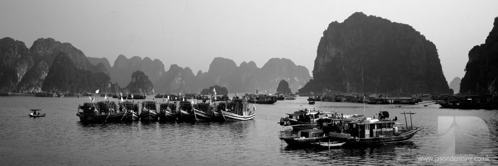 HA LONG BOATS