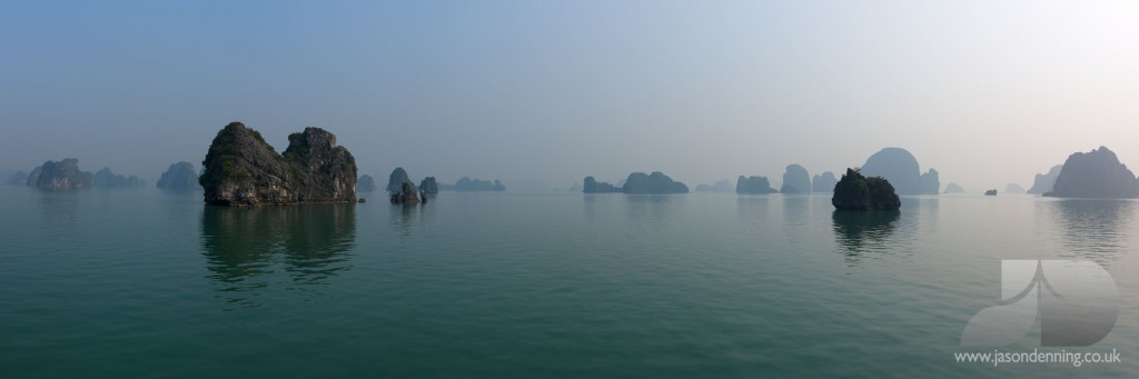 HALONG BAY REFLECTIONS
