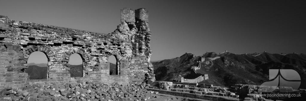 JINSHANLING GREAT WALL OF CHINA RUINS