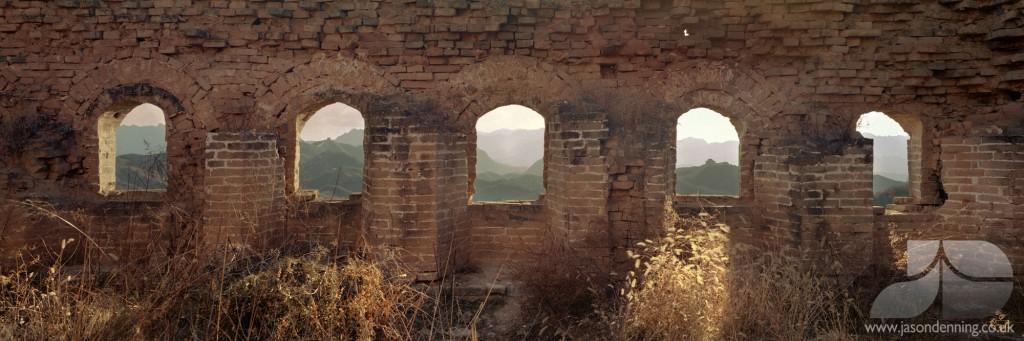 JINSHANLING GREAT WALL OF CHINA WINDOWS
