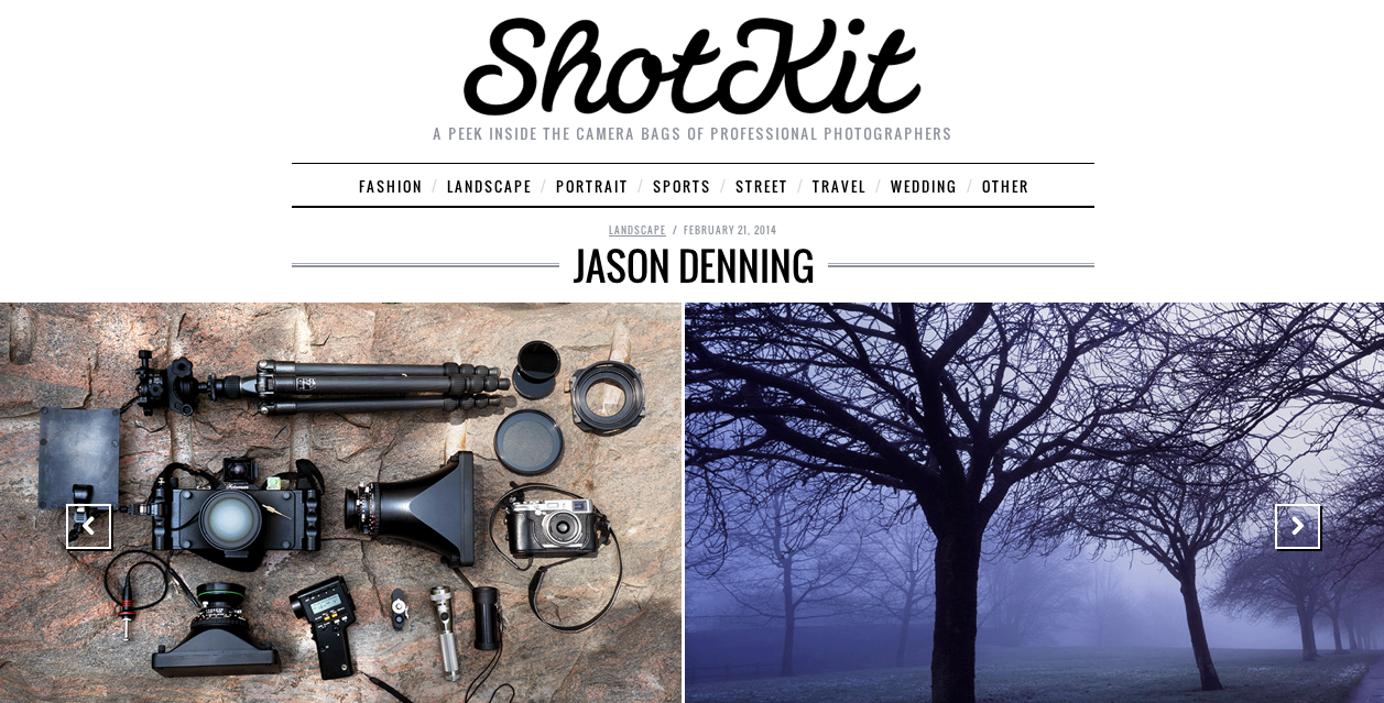 Check out the gear I use on ShotKit