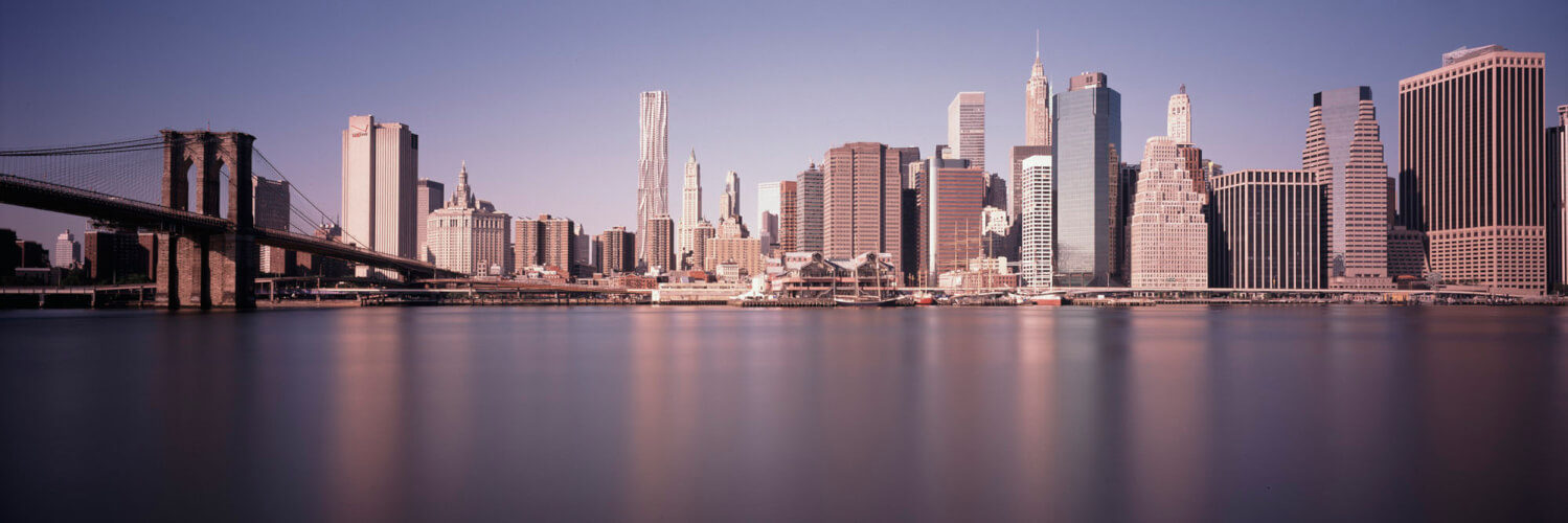 New York City Skyline from Brooklyn