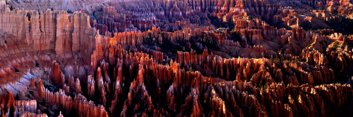 giant natural amphitheater of bryce canyon