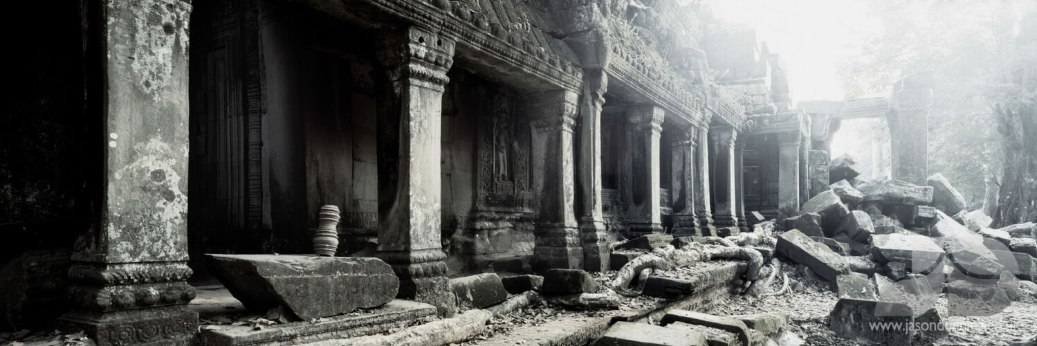 THE RUINS OF TA PROHM - CAMBODIA
