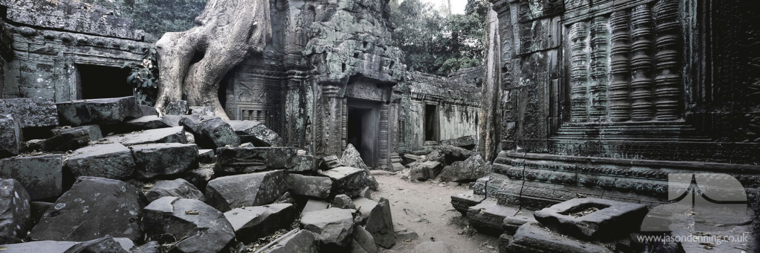 THE RUINS OF TA PROHM - SIEM REAP