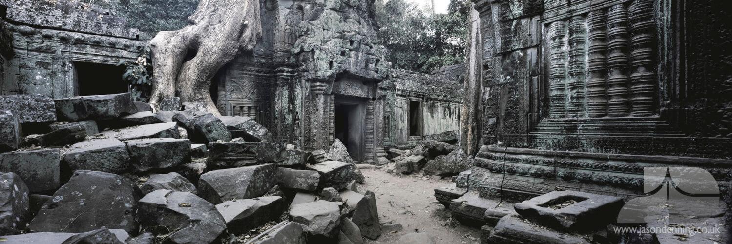 THE RUINS OF TA PROHM - SIEM REAP