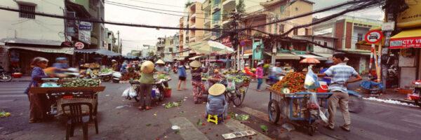 Ho Chi Minh City Street Market