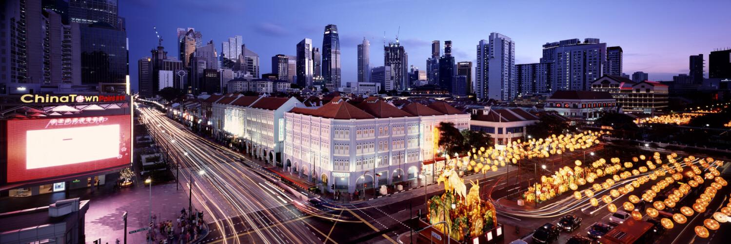 SINGAPORE CHINATOWN CNY