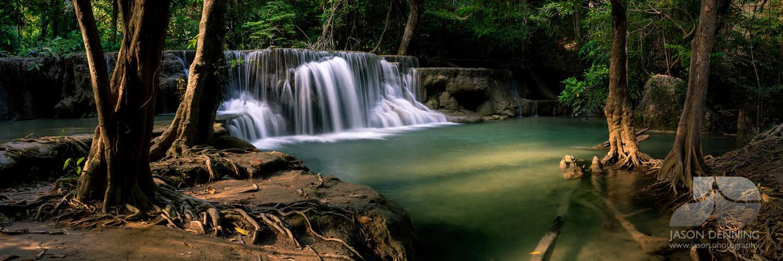 Kanchanaburi Thailand Waterfall