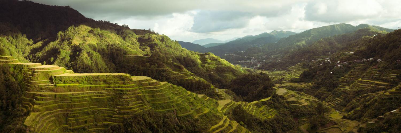 Bane Rice terraces philippines