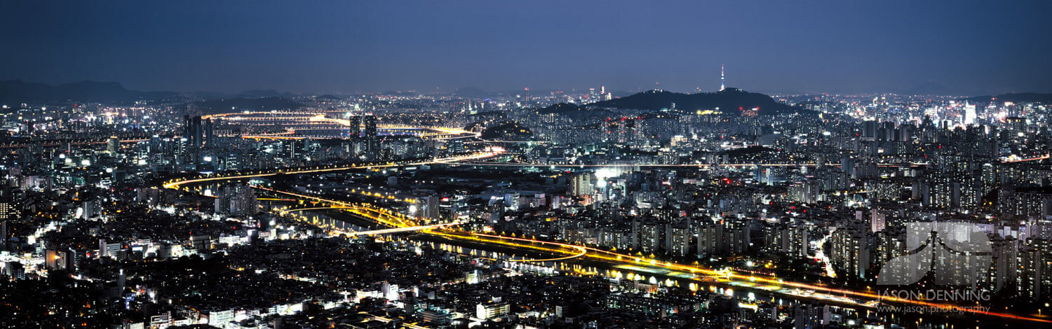 Mount Achasan Seoul South Korea