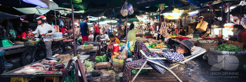 Phnom Penh cambodia market
