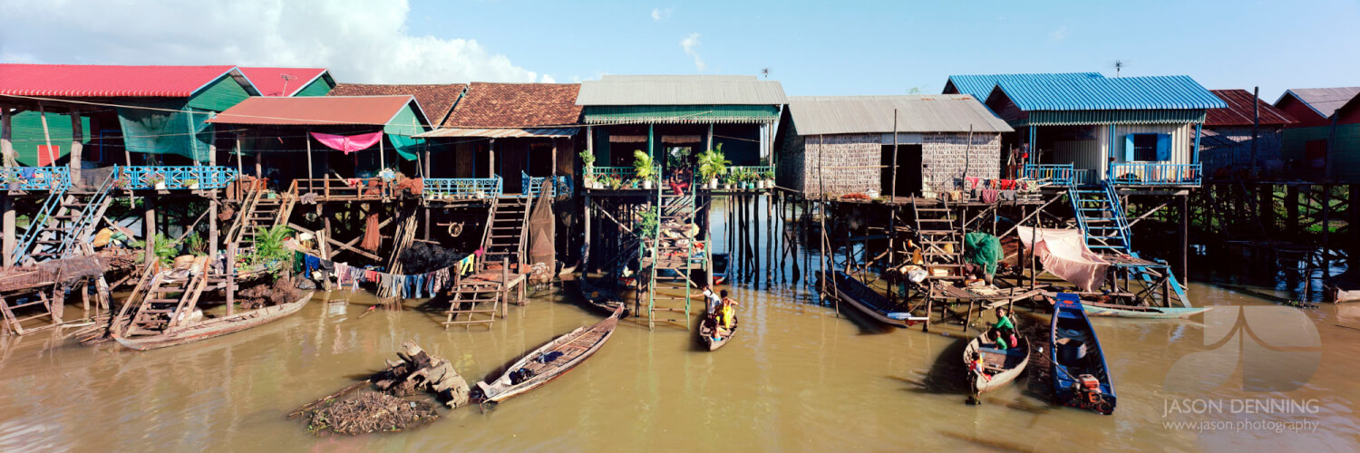 Cambodia and the Tonle Sap Lake