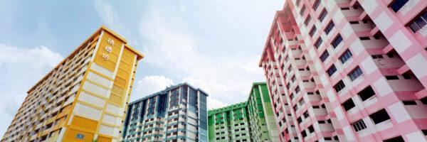 Singapore HDB public housing