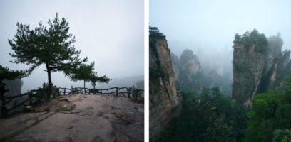 zhangjiaji forest park china