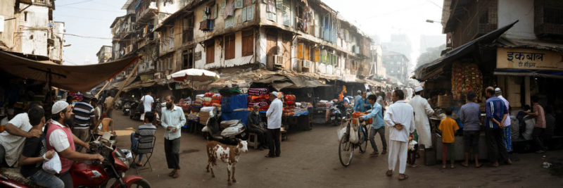 Bombay Market goat