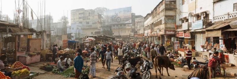Local India market