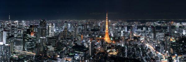 Rappongi hills Tokyo view