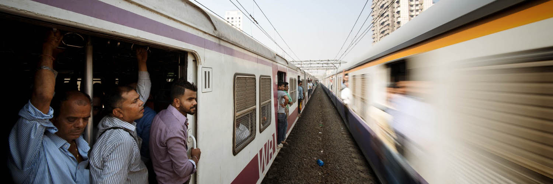 Bombay commute india