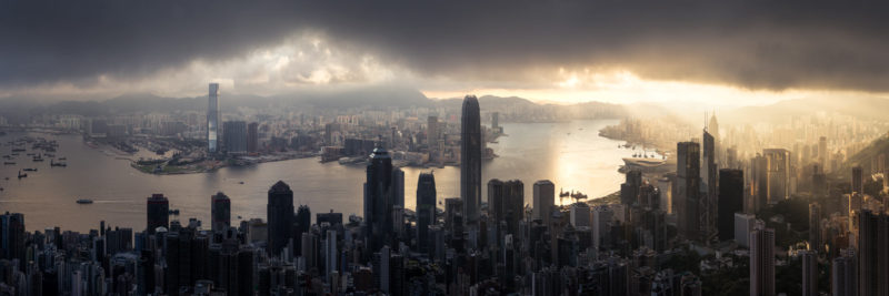 Hong Kong Cityscape from the Peak