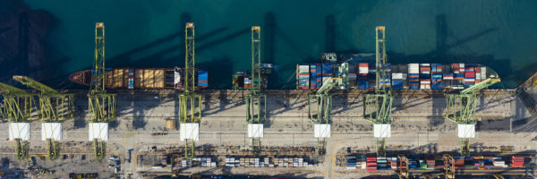 Singapore shipping docks