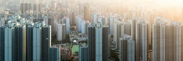 Metropolis skyscrapers