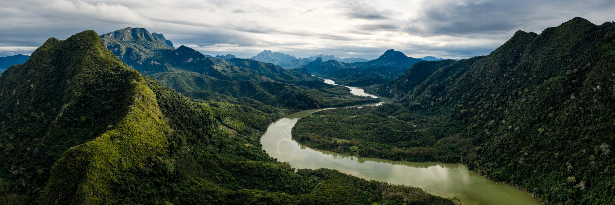 Nam Ou river Luang Prabang