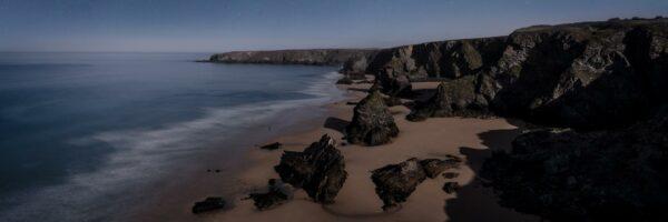 bedruthan steps beach Cornwall