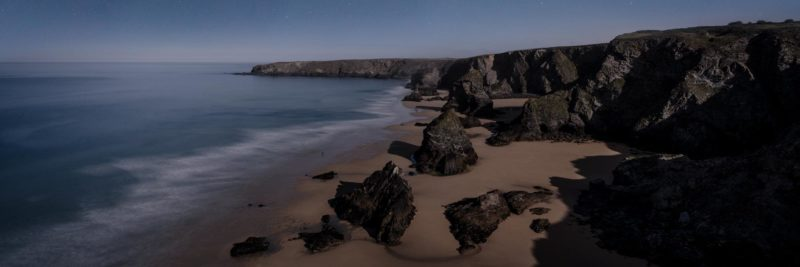 bedruthan steps beach Cornwall