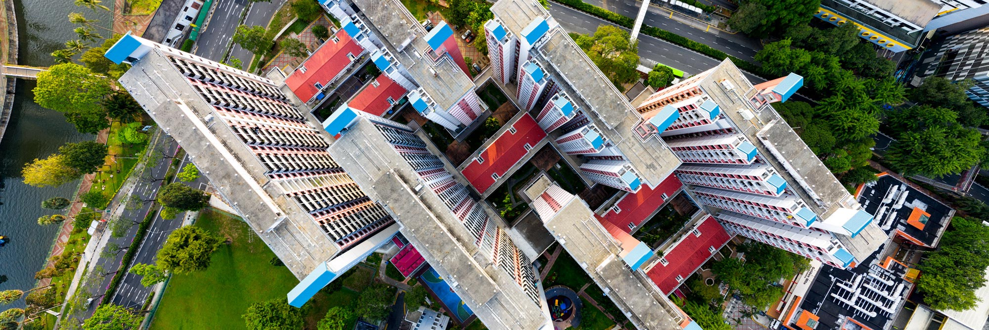 Singapore HDB aerial