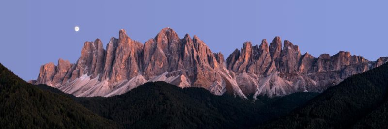the geisler group of mountains