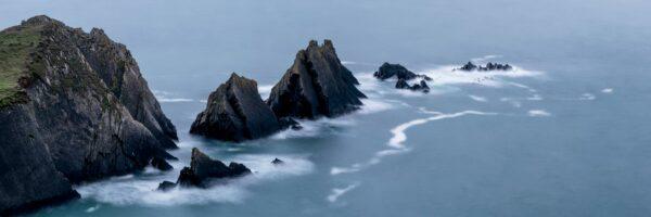 Rocky rugged coast