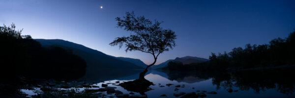Snowdonia national park lake