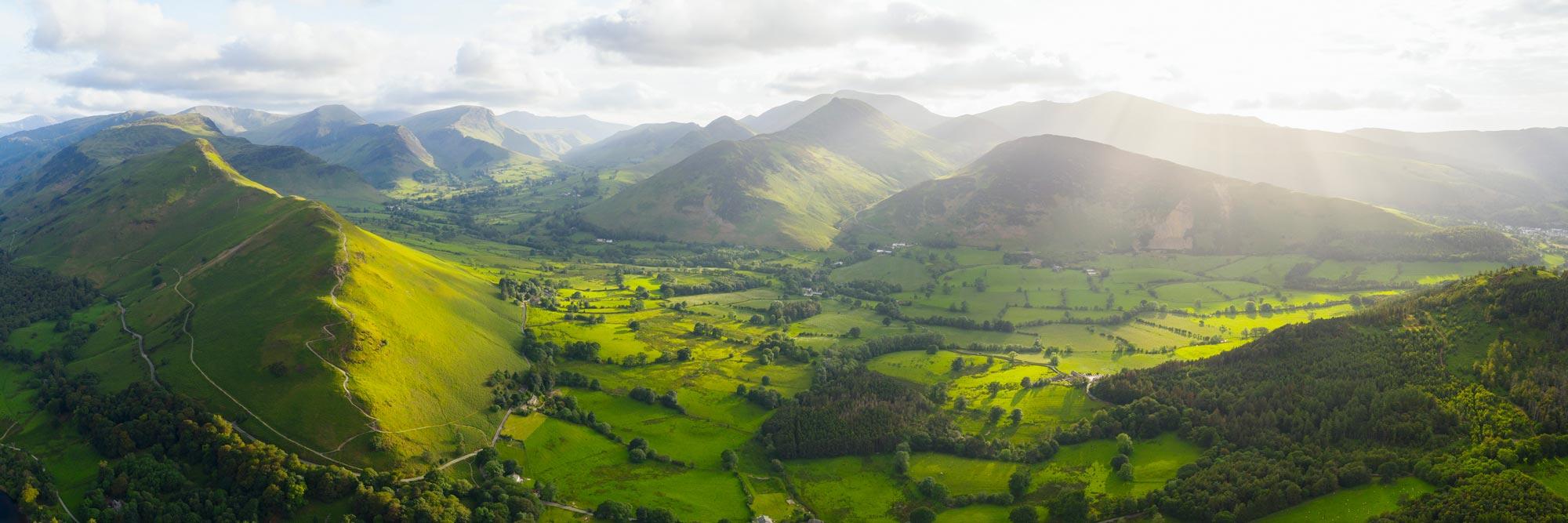 Cat bells hike England