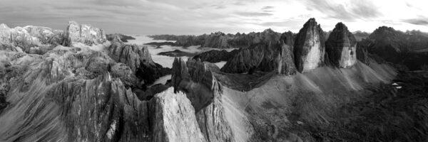 Dolomites drone photography