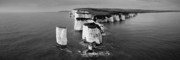 Panoramic print of the Dorset coast