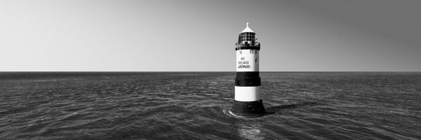 Anglesey lighthouse panoramic print