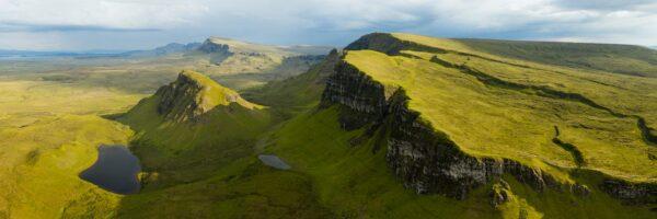 Isle of sky panoramic